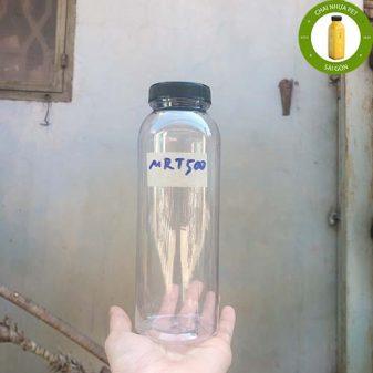 chai nhựa 500ml miệng rộng
