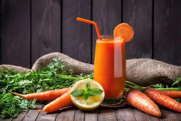 nước ép detox cà rốt